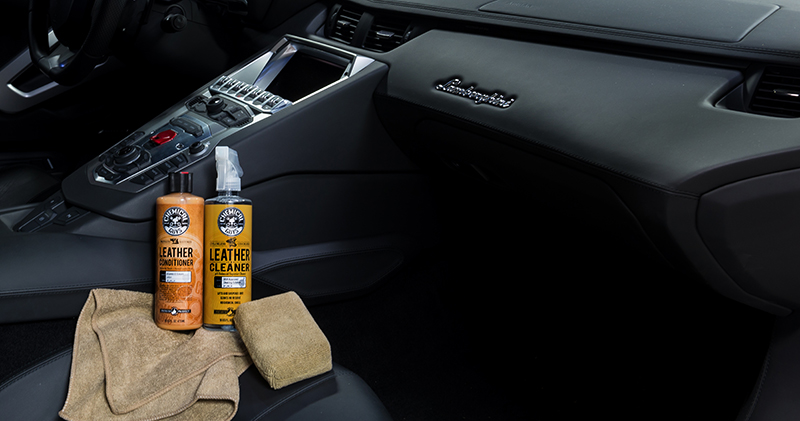 Car Leather Cleaner >> Details About Chemical Guys Spi 109 16 Leather Cleaner Conditioner Leather Care Kit 16 Oz